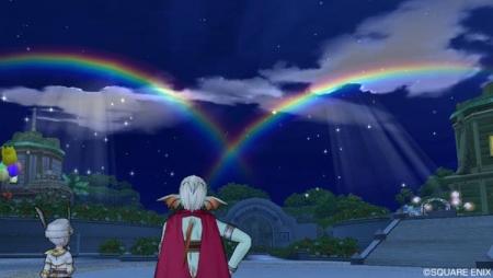 かすみちゃんと虹