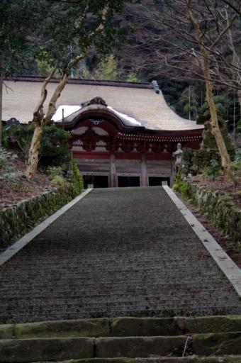 鰐淵寺の参道