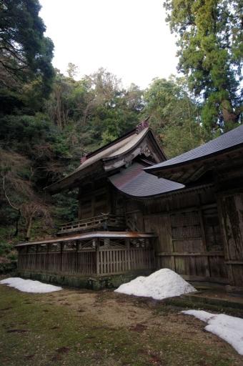 鰐淵寺の摩多羅神社