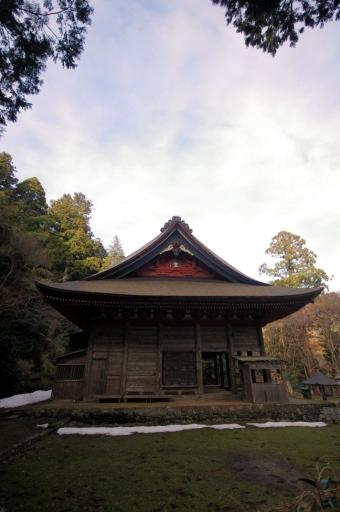 鰐淵寺根本堂