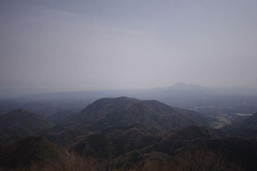 矢滝城跡から見た仙ノ山