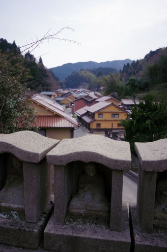 観世音寺から見た町並み