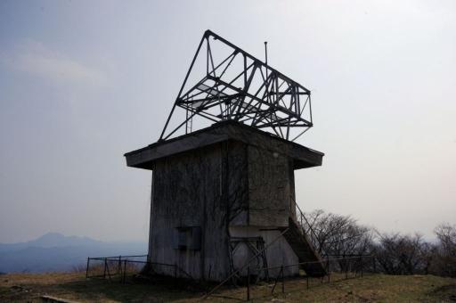 矢滝城跡の廃墟
