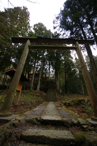 佐毘売山神社の参道