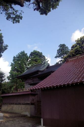 佐毘売山神社本殿