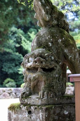 熊野大社の狛犬