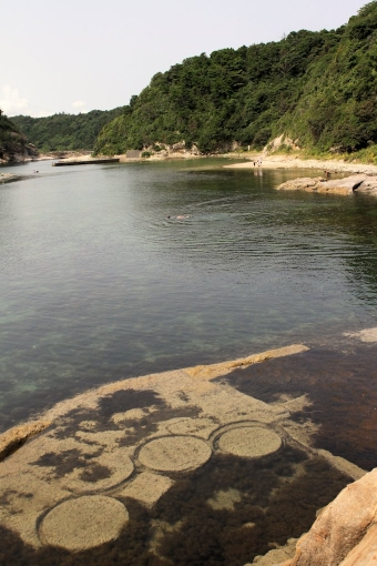 櫛島城跡と石切場
