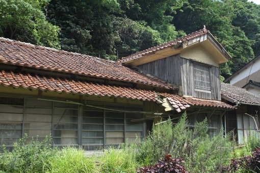 沖泊の家屋
