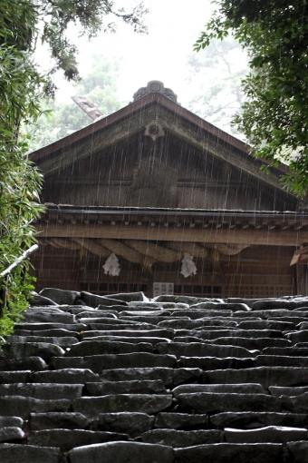 神魂神社の男坂