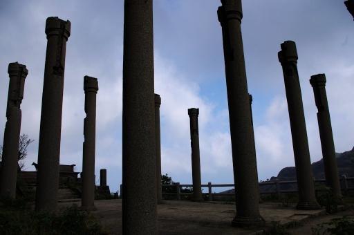 金瓜石の柱