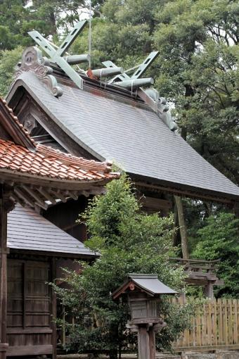 朝山神社本殿