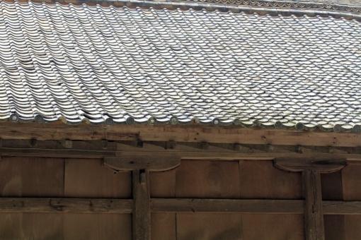 神楽殿の屋根