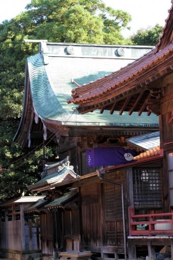 櫛代賀姫神社本殿
