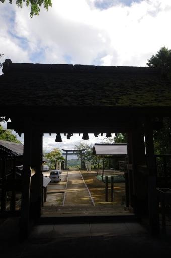内神社から見た宍道湖