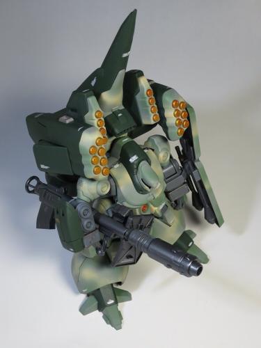 ズサ重装型とリサイクルジェガン02