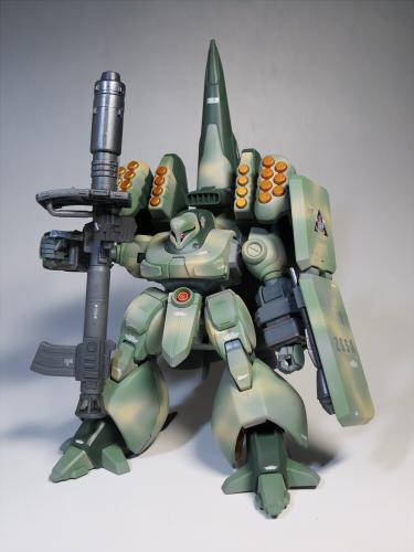 ズサ重装型とリサイクルジェガン07