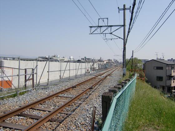 仮橋閉鎖後の赤川鉄橋02
