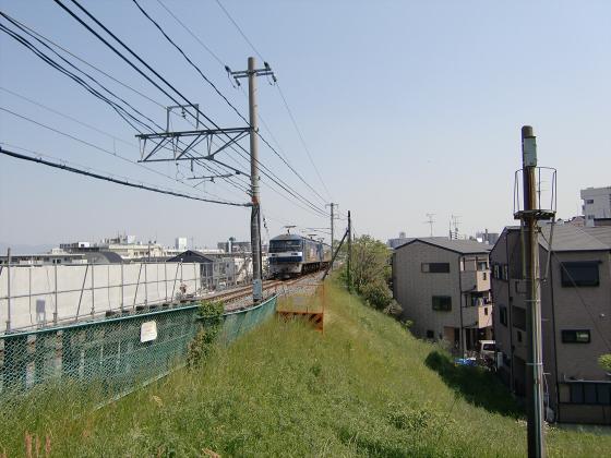 仮橋閉鎖後の赤川鉄橋06