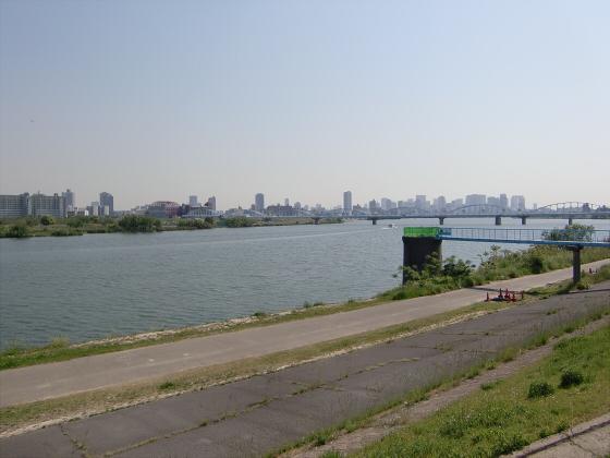 仮橋閉鎖後の赤川鉄橋13