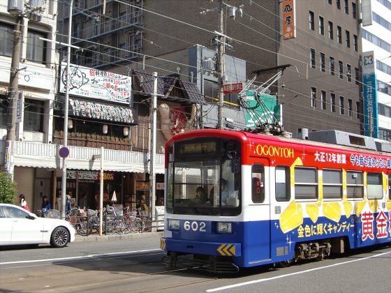 あべのハルカスと阪堺電車09