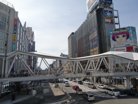 あべのハルカスと阪堺電車19