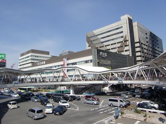 あべのハルカスと阪堺電車22