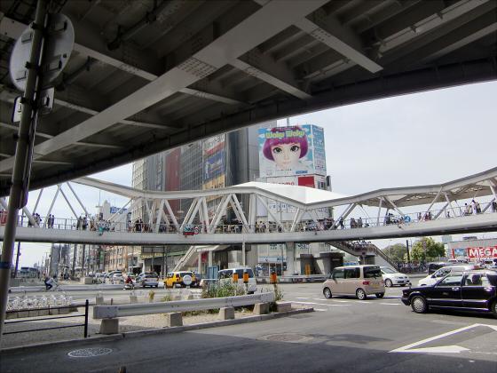 あべのハルカスと阪堺電車23