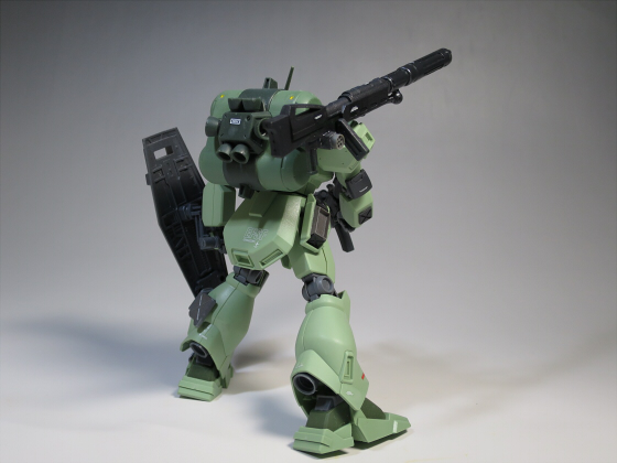 ズサ重装型とリサイクルジェガン03