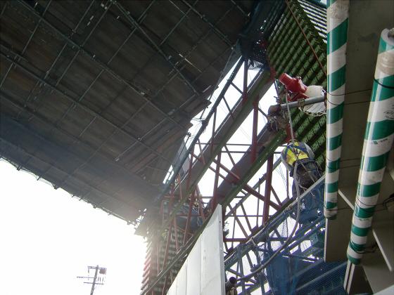城東貨物と工事中の橋06