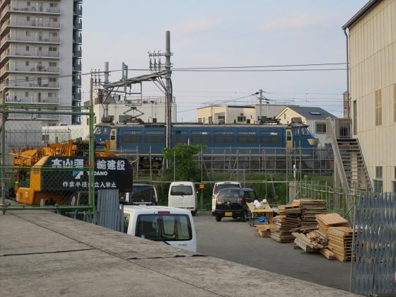 城東貨物と工事中の橋23