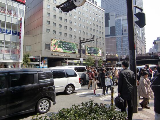 梅田ヨドバシとグランフロント10