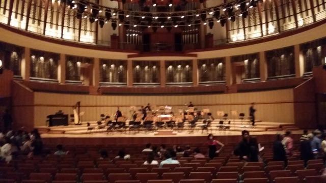 Esplanade Concert Hall Stage