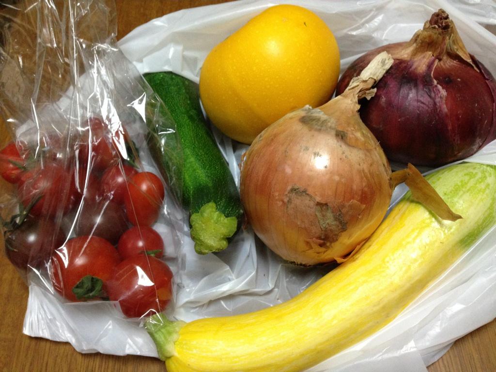 田中くんの野菜