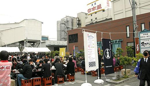 日本盛蔵開き&神戸花物語2014-1