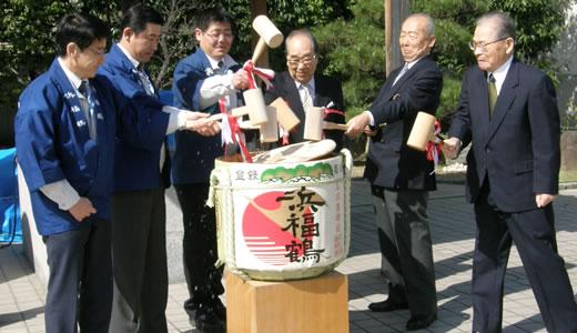 浜福鶴吟醸工房蔵開き&水都大阪川開き2014-1