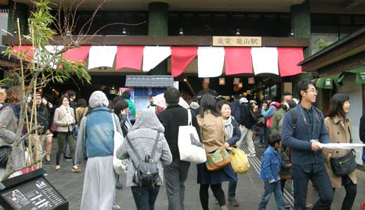 嵐電沿線の桜2014@京都(2)-3