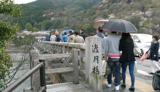 嵐電沿線の桜2014@京都(2)-4