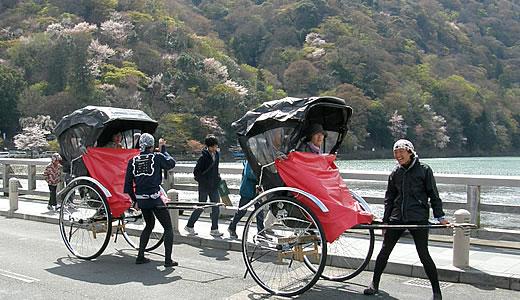 嵐電沿線の桜2014@京都