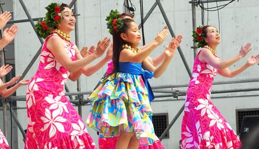 HAWAII FESTIVAL in OSAKA 2014&地域伝統芸能フェスティバル-2