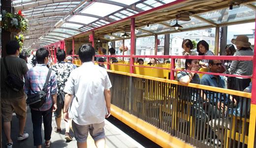 トロッコ列車@嵯峨野-3