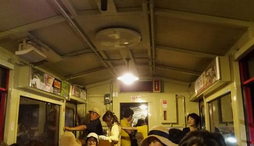 トロッコ列車@嵯峨野-4