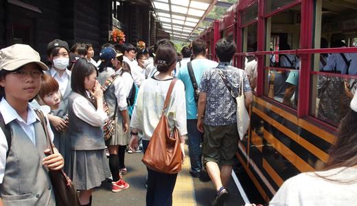 トロッコ列車@嵯峨野(2)-5