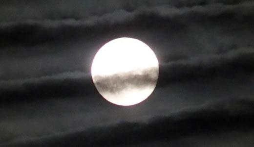 中秋の名月(スーパームーン)-1
