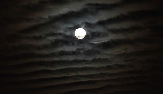 中秋の名月(スーパームーン)-2