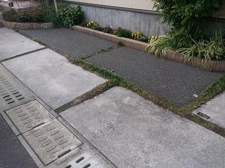 駐車場目地