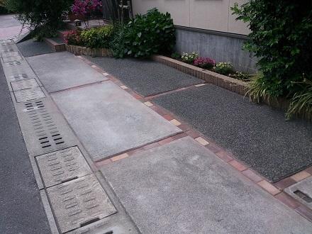 コンクリート目地ブロック完成
