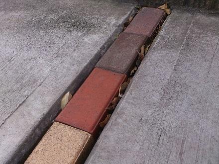 ブロック隙間