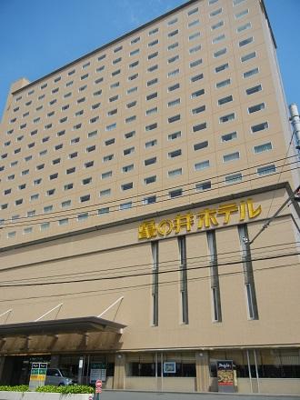 亀の井ホテル外観