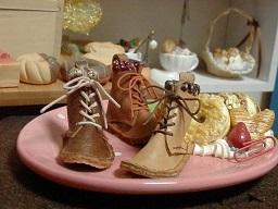 靴紐ブーツ1