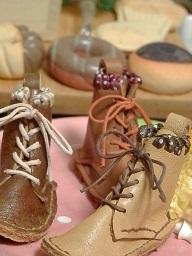 靴紐ブーツ2